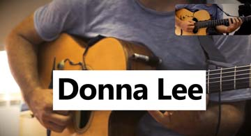 Donna Lee Guitar Tablatures download