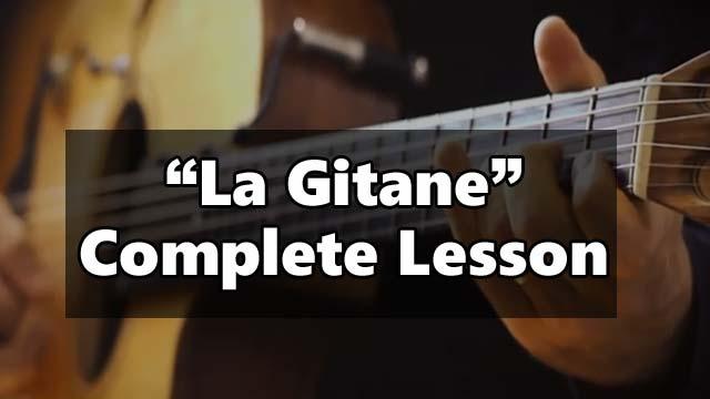 Learn La Gitane, gypsy jazz