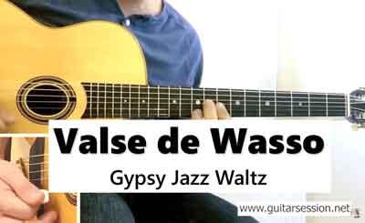 apprendre Valse de Wasso jazz manouche