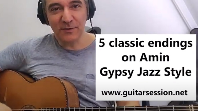 Gypsy jazz endings