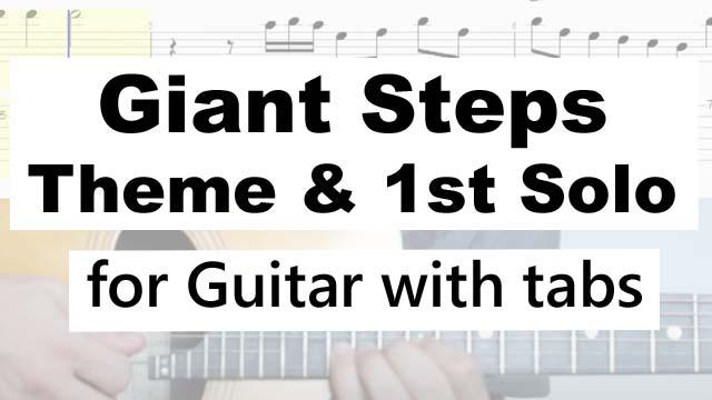 Learn-Giant-Steps-Guitar