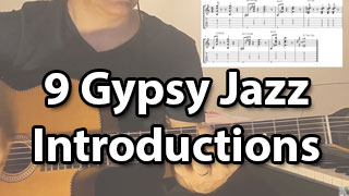 Learn Gypsy jazz introduction