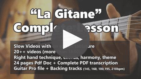 Learn La Gitane gypsy jazz Lesson