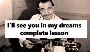 I'll see you in my dreams lesson