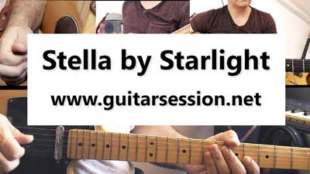 Stella by starlight tablature
