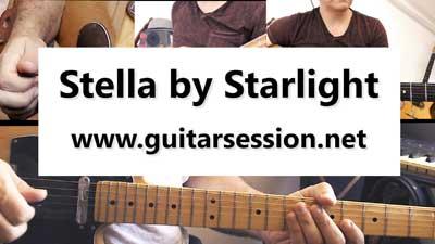 Stella by starlight tablature